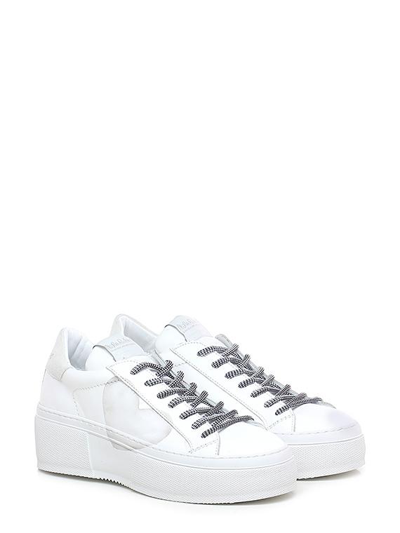 Sneaker mimosa - cuore pure white