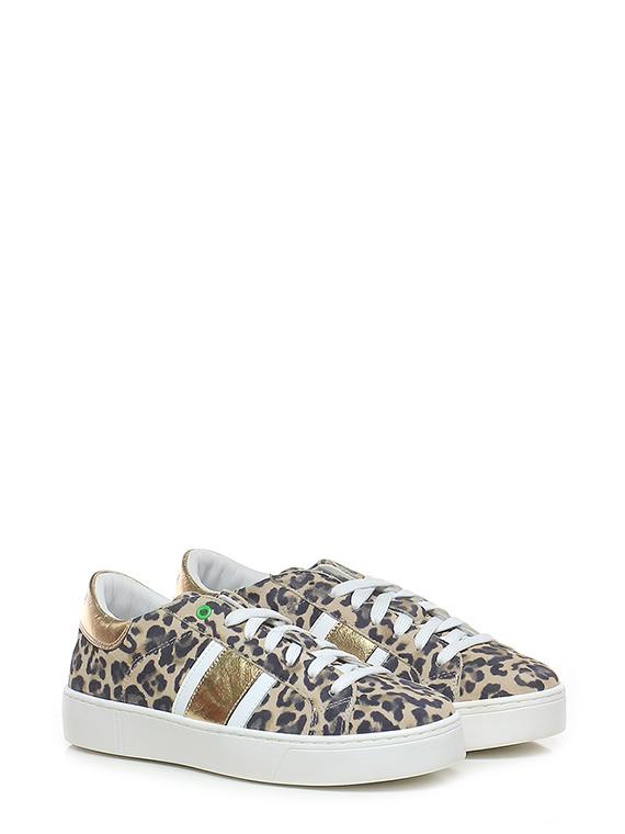 Sneaker kingston leopard gold