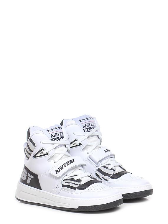 Sneaker basket zebra