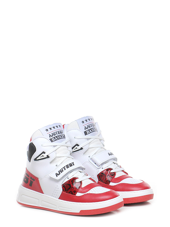 Sneaker basket red