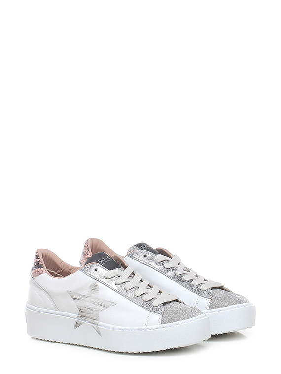 Sneaker in creepers stella crystal