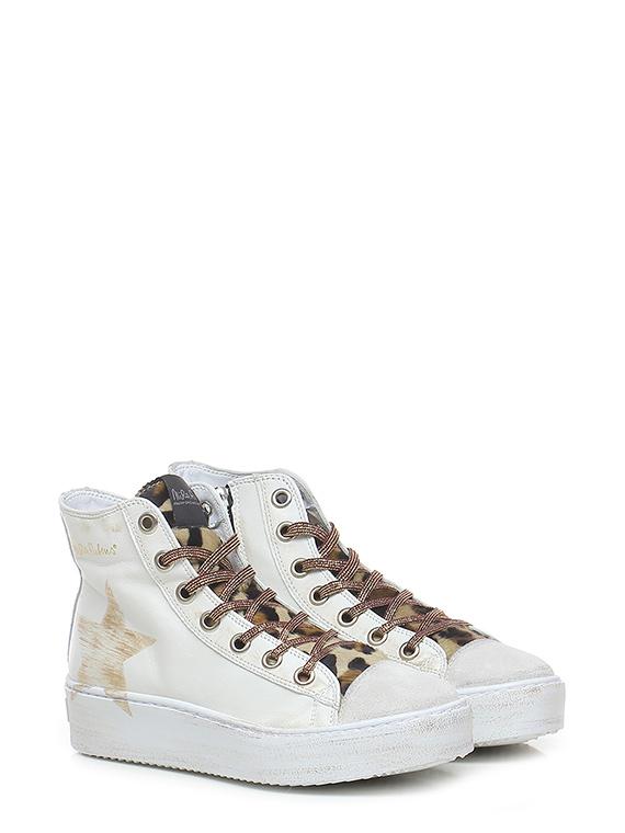 Sneaker long island - stella white leo