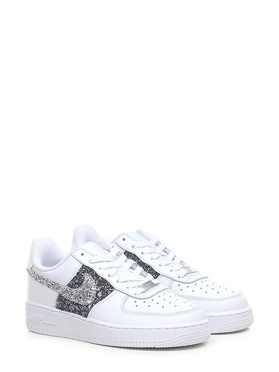 Sneaker glittergrey