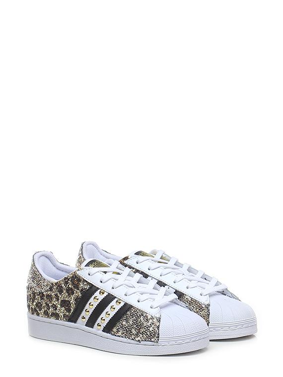 Sneaker hermosa oro