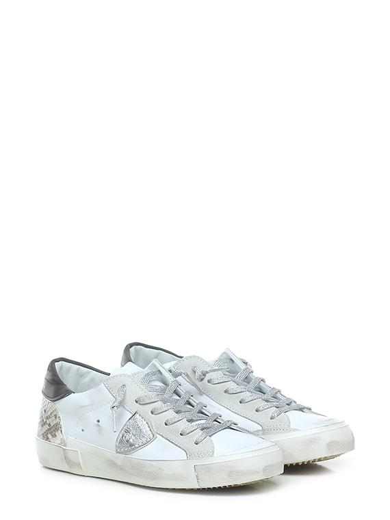 Sneaker prsx mixage animalier blac