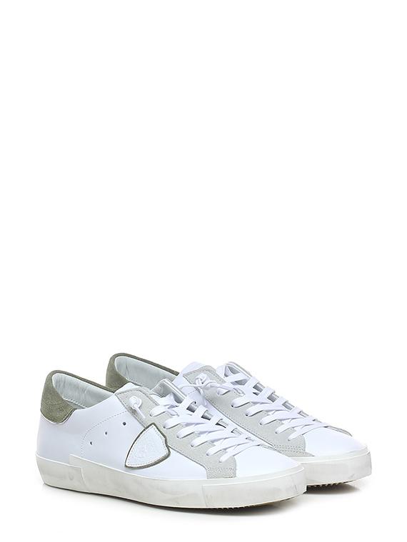 Sneaker prsx low man mixage pop blanc vert