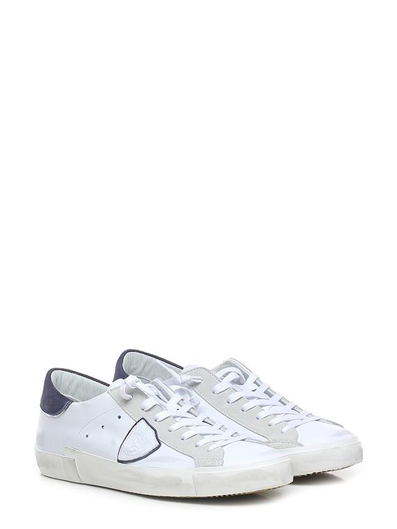 Sneaker prsx low man mixage pop blanc bleu
