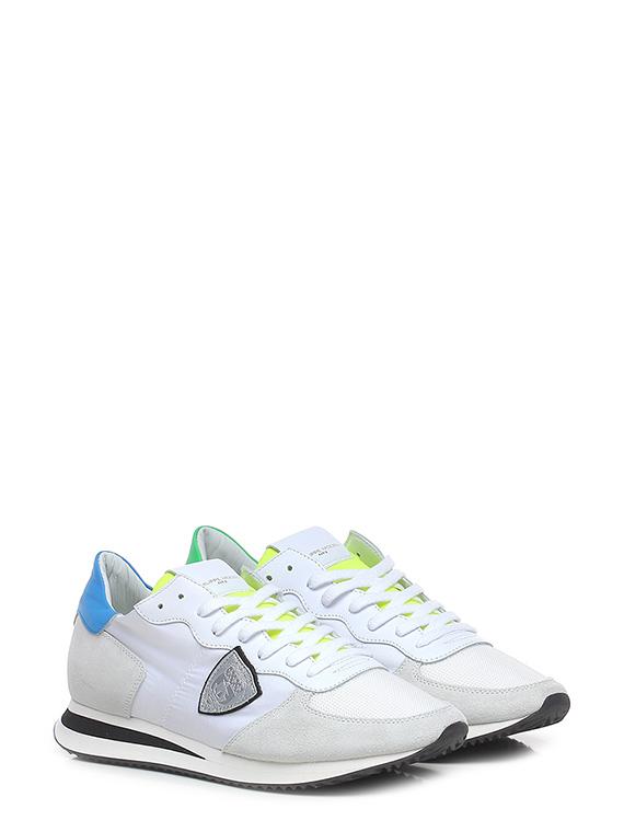 Sneaker trpx low man mondial neon blanc