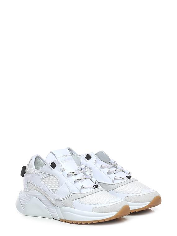 Sneaker eze low woman mondial resau blanc