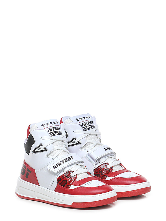 Sneaker basket red