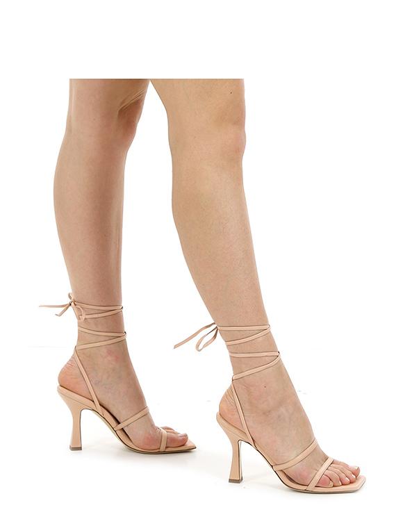 Sandalo alto lisa