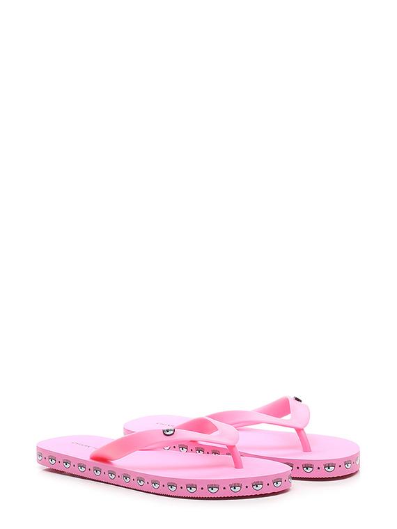 Sandalo basso logomania flip flops