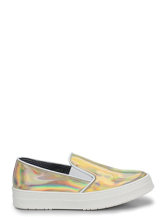 27f47f69b9 Sneaker Platino Pollini Studio - Le Follie Shop