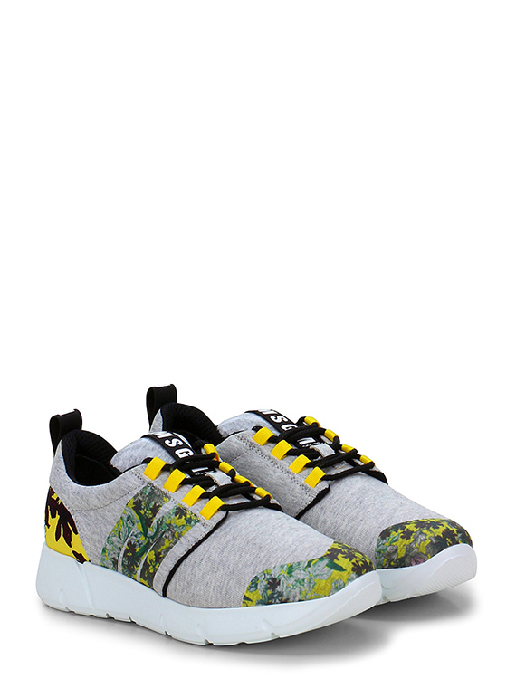 Sneaker greygialloverde msgm le follie shop for Codice 1841