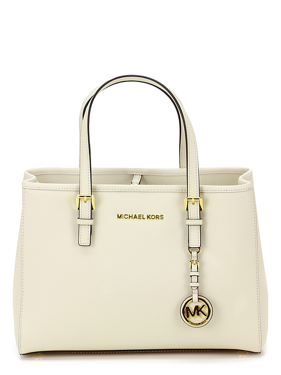 Borsa jet set travel Ecru Michael Kors Le Follie Shop