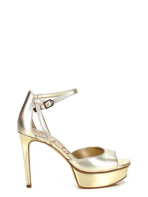 d4e29c491 High sandal Gold Sam Edelman - Le Follie Shop