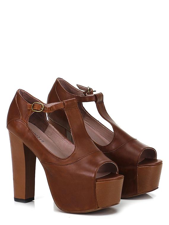 new concept 9f70d a54fe Hohe sandale Cuoio Jeffrey Campbell - Le Follie Shop
