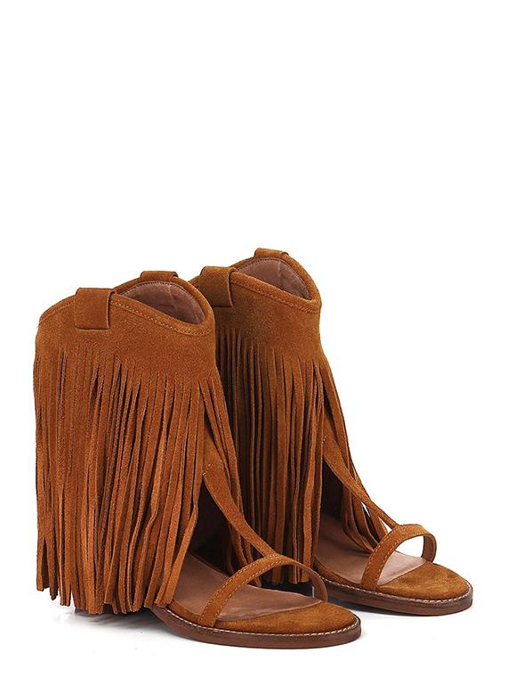 competitive price 9f5b9 54757 Low sandal Tan Jeffrey Campbell - Le Follie Shop