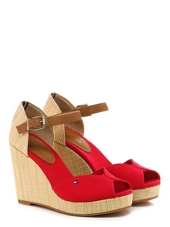 daf1cc251 Wedge Red Tommy Hilfiger - Le Follie Shop