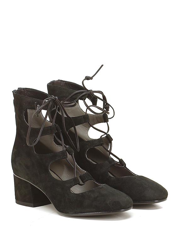 official photos 1c73e 9d28a Schuh mit absatz Nero Janet & Janet - Le Follie Shop