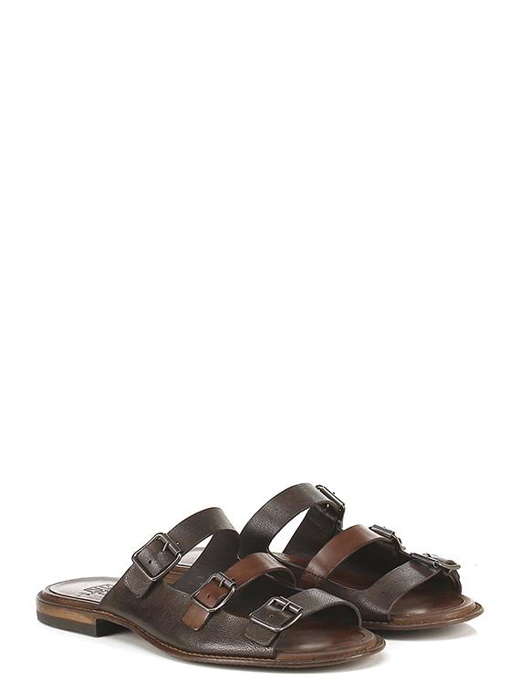 Flache sandale