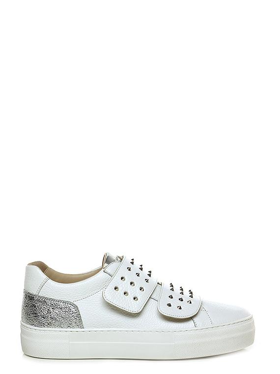 Sneaker Biancoargento Donna Carolina Le Follie Shop
