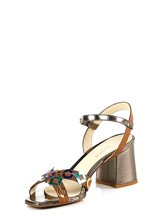 3d3cce778228dc High sandal Cuoio bronzo Alexandra - Group-Shoes