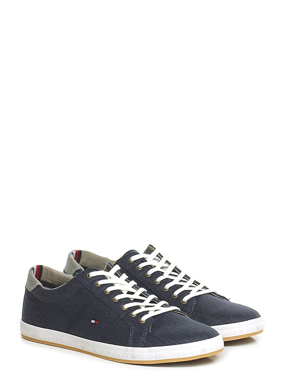 96b84664c77364 Sneaker Navy Tommy Hilfiger - Le Follie Shop