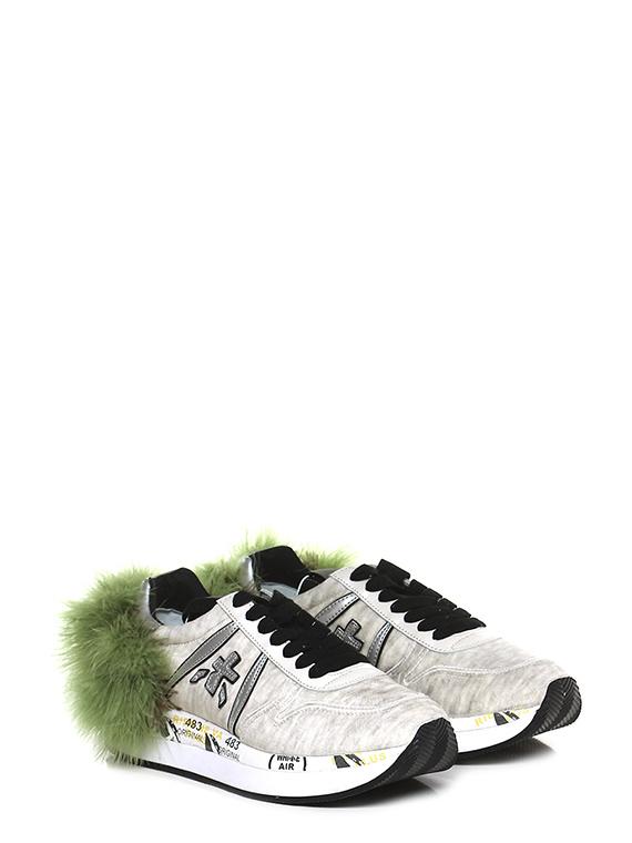 Sneaker 2547 ivorygreen Premiata Le Follie Shop