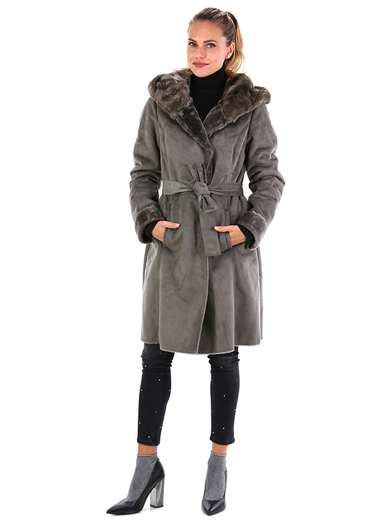 Giacca Taupe Rino and Pelle Le Follie Shop