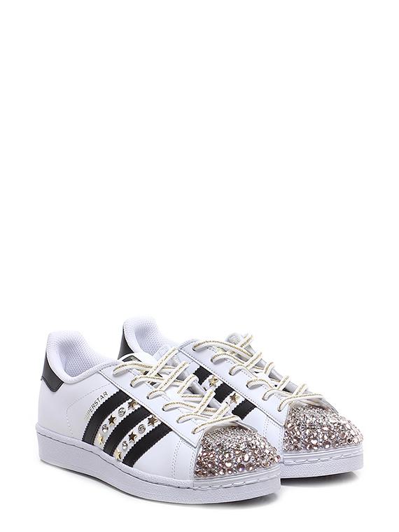 adidas sneaker strass