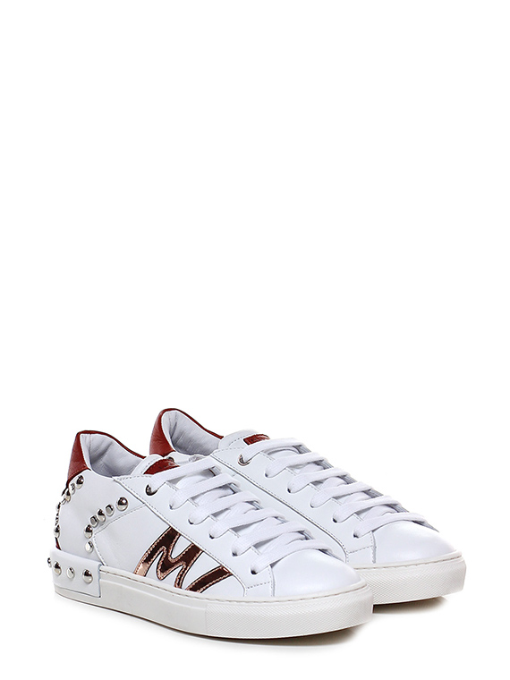 new concept c26e1 29385 Sneaker Bianco/mattone/rame Manila Grace - Le Follie Shop