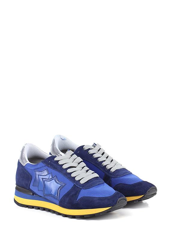 A buon mercato Sneaker Blue/silver Atlantic Stars alta qualità