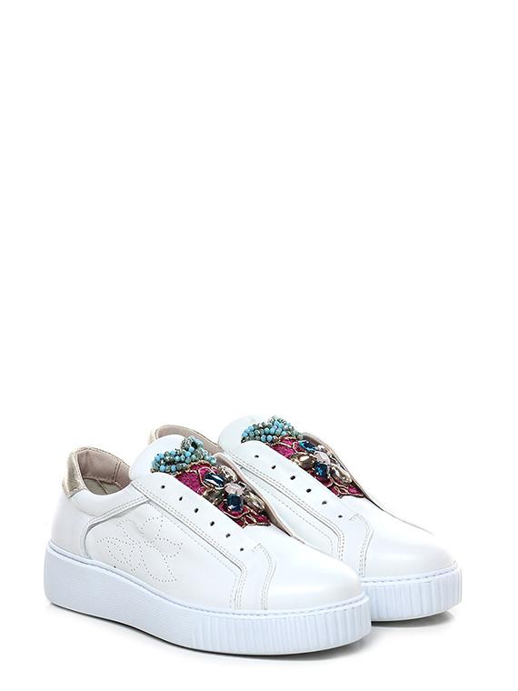 Le Biancomulticolor Tosca Sneaker Follie Mzvqspug Shop Shoes Blu OZiuPkX