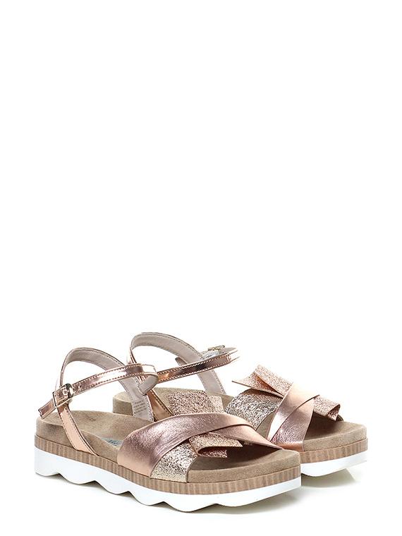 Sandalo basso Rame/platino Tosca Blu Shoes