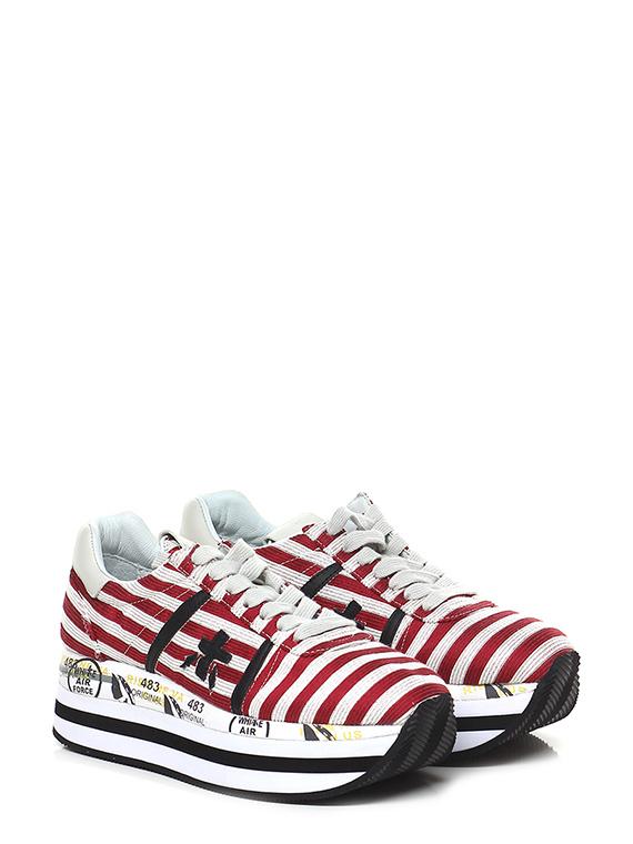 stili di moda più tardi regno unito Sneaker 2987 red/white/black Premiata - Le Follie Shop