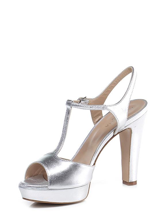 Sandalo alto Argento Alexandra - Group-Shoes e3d92539176