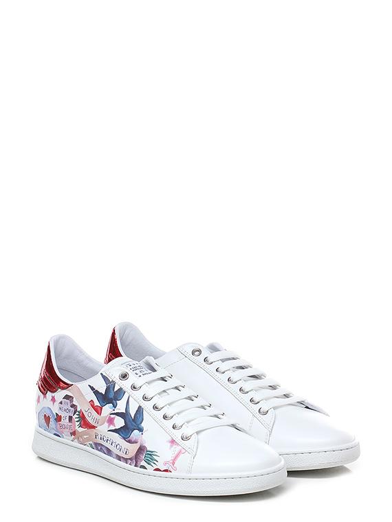 cheaper 89910 b847e Sneaker White/multicolor John Richmond - Le Follie Shop