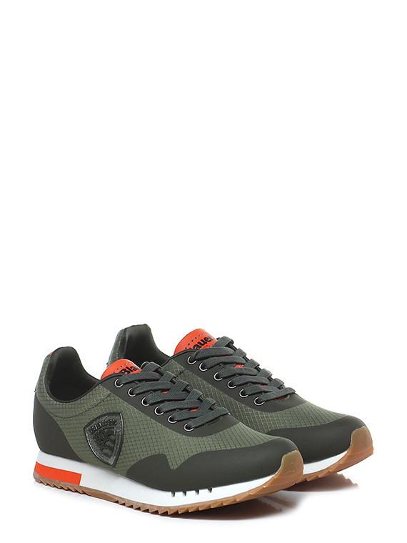 huge selection of 2e20c d4367 Sneaker Military/orange Blauer - Le Follie Shop