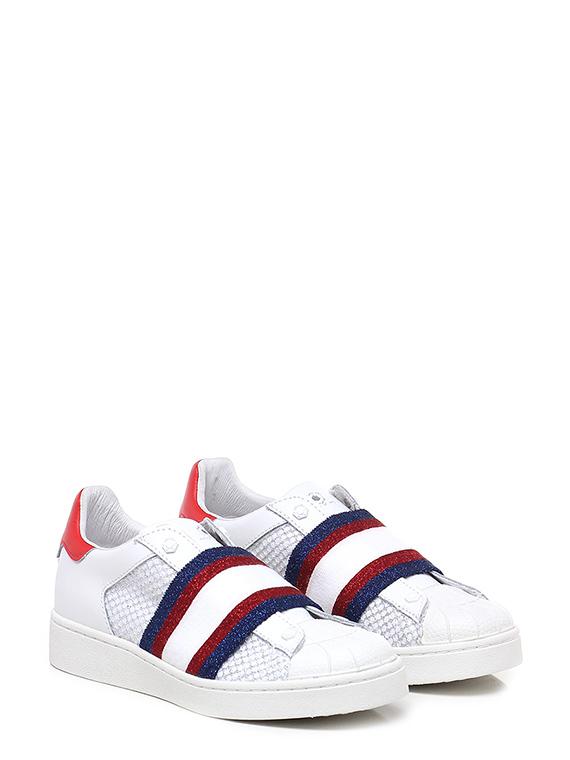 Sneaker Bianco/rosso/blu Moa Master Of Arts