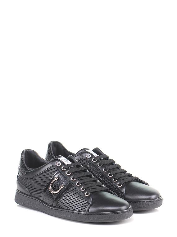 Sneaker Black John Richmond - Le Follie Shop f0d8647a7d9